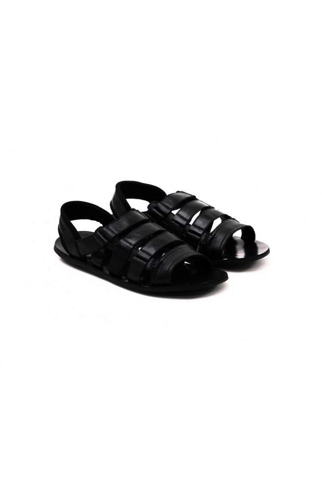 Сандалии мужские. Цвет черный.