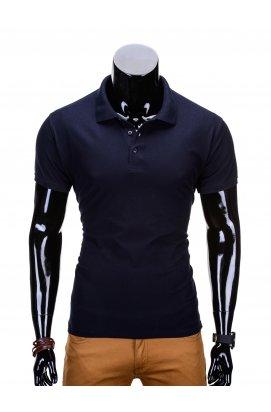 Футболка-поло мужская P715 - Синий