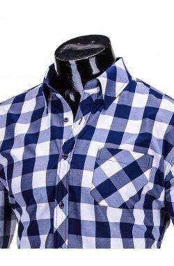 Рубашка мужская R282 - Синий