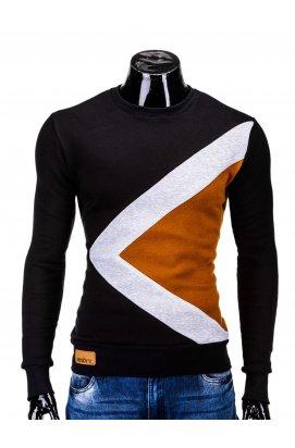 Men's sweatshirt erico B575 - черный