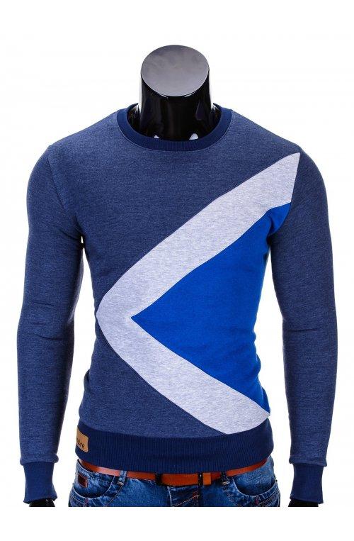 Men's sweatshirt erico B575 - Синий