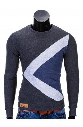 Men's sweatshirt erico B575 - Темно- Серый