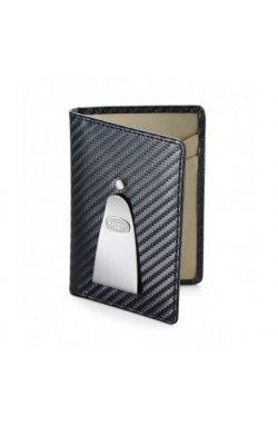 Зажим для денег Dalvey Continental черн.карбон (110x75x8мм) D03258
