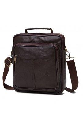 Мессенджер HD Leather NM24-103C - Натуральная кожа, Коричневый