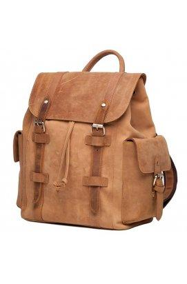 Рюкзак Tiding Bag t0010 - Натуральная кожа, Коричневый