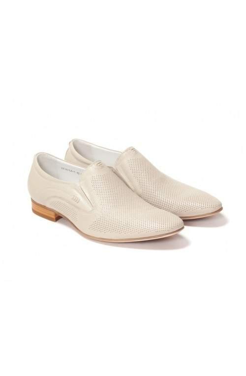 Туфли мужские. Цвет серый.