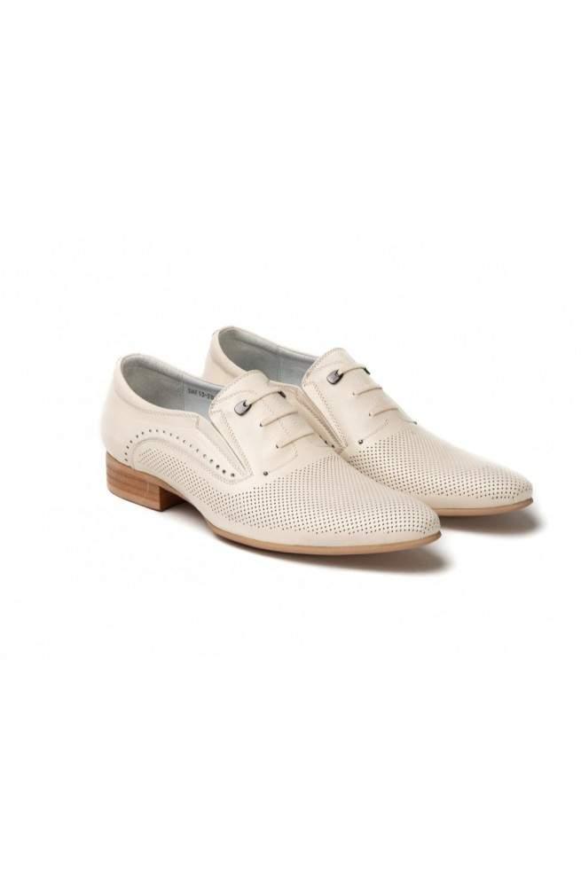 Туфли мужские. Цвет бежевый.
