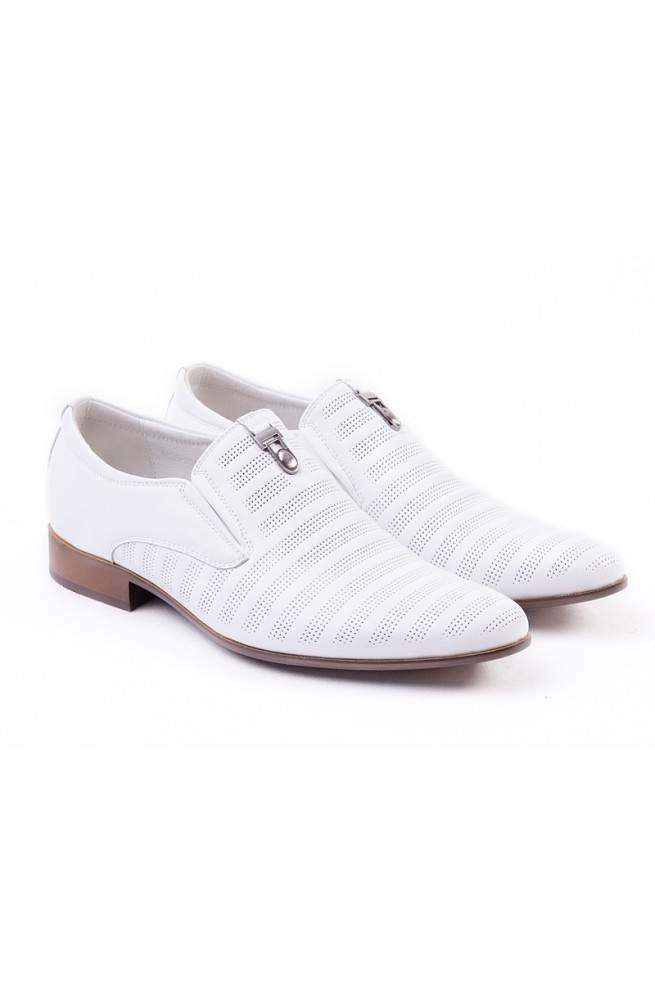 Туфли мужские. Цвет белый.