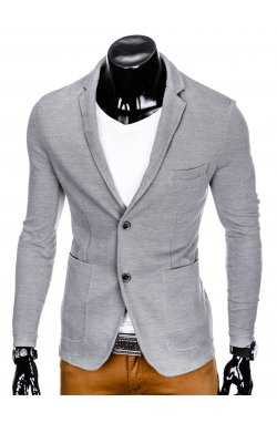 Пиджак мужской ombre серого цвета