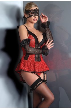 Red Rose Livia Corsetti Fashion
