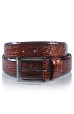 Ремень мужской кожаный коричневый Glasman 465