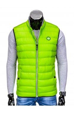 Жилет мужской стеганый B40 - зеленый
