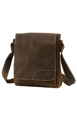 Мессенджер Tiding Bag NM15-6011R - Натуральная кожа, Коричневый