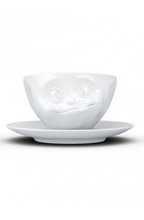 Ласощі - чашка з блюдцем- 58products - Tassen (200 мл)