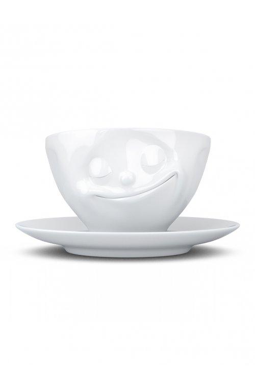 Счастливая улыбка - чашка с блюдцем Tassen (200 мл) - 58products - Tassen
