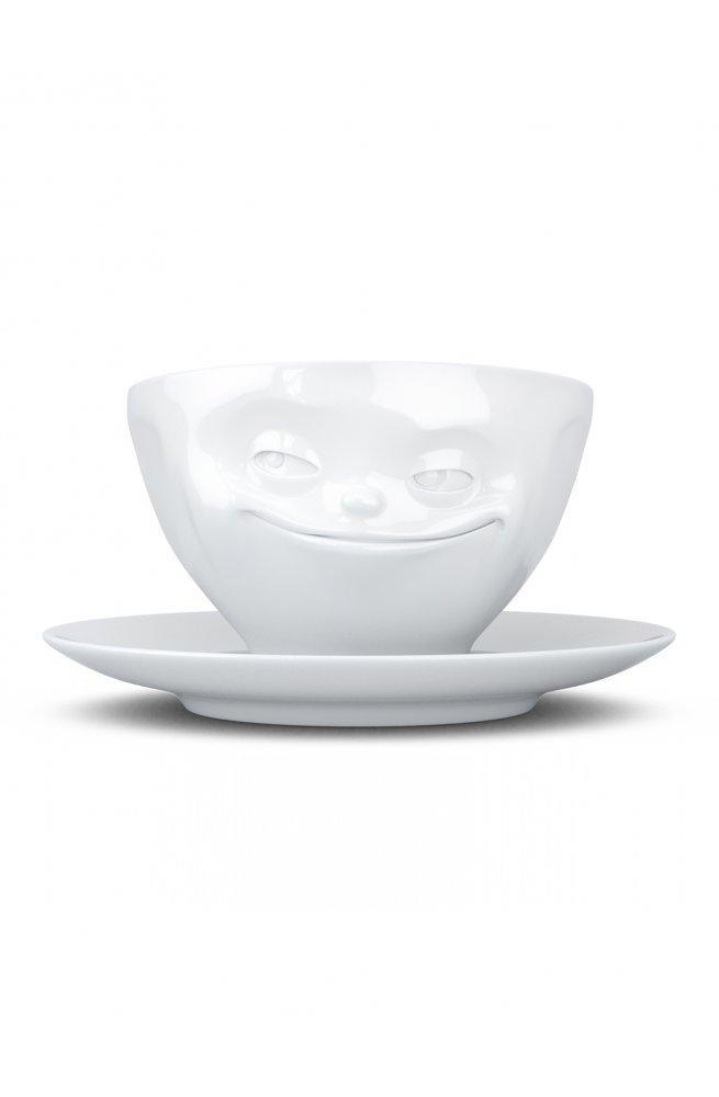 Хитрая улыбка - чашка с блюдцем Tassen (200 мл)