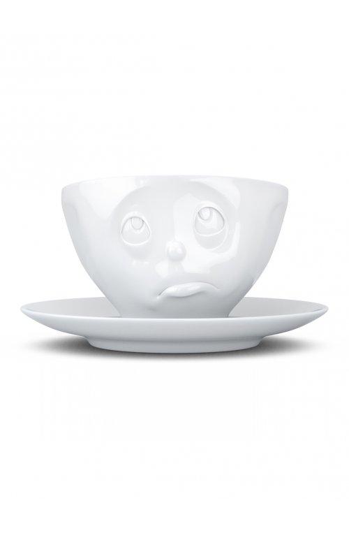 """Чашка Tassen """"Ой, та ладно"""" з блюдцем - 58products - Tassen"""