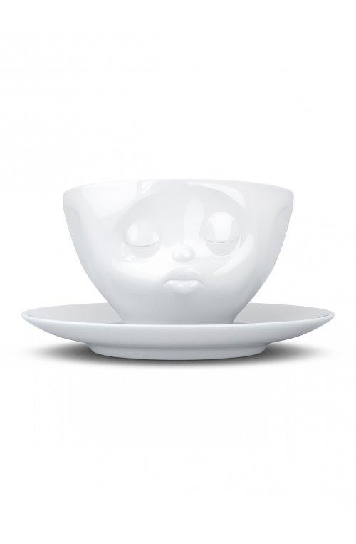 """Чашка Tassen """"Поцілунок"""" з блюдцем - 58products - Tassen"""