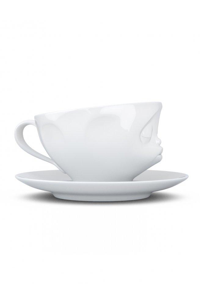 """Чашка Tassen """"Поцелуй"""" с блюдцем"""