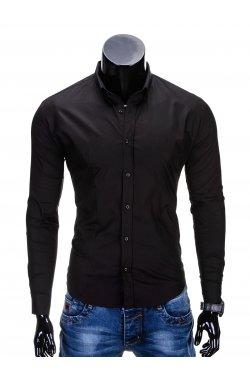 Рубашка мужская R219 - черный
