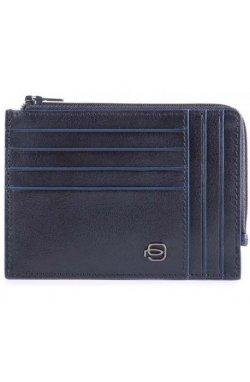 Кредитница Piquadro Blue Square B2S/Blue PU1243B2SR_BLU