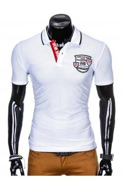 Футболка-поло мужская P905 - Белый