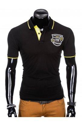 Футболка-поло мужская P905 - черный