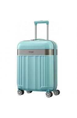 Чемодан на 4 колесах Titan SPOTLIGHT FLASH/Mint Маленький Ti831406-81