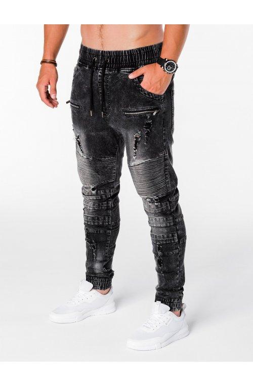 Брюки мужские джоггеры B675 - черный