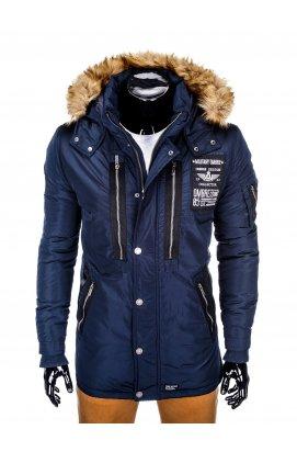 Куртка парка мужская зимняя K360 - синий