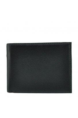 Портмоне Horton Collection Tr365A - Натуральная кожа, черный