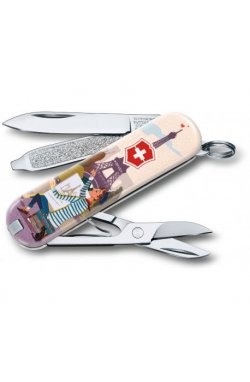 Складной нож Victorinox CLASSIC LE The City of Love Vx06223.L1810
