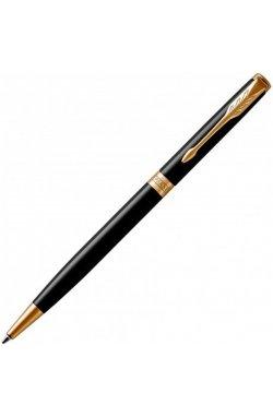 Ручка роллер Parker SONNET 17 Slim Black Lacquer GT BP 86 031