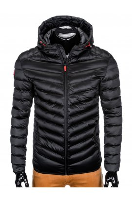 Куртка мужская демисезонная (осенне - весенняя) K368 - черный