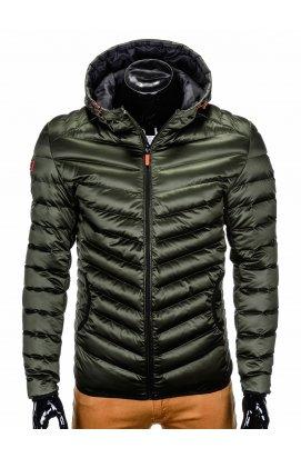Куртка мужская стеганая K368 - хаки