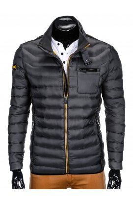 MEN'S PID-SEASON QUILTED JACKET C359 - серый