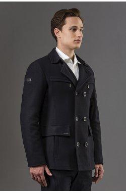Пальто мужкое Р-453 (Navi)