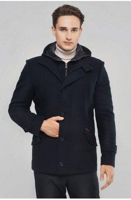 Пальто мужское зимнее Р-900 (Parka) Темно-Синий