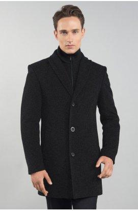 Пальто чоловіче зимове Р-043 (iClass) - Графіт