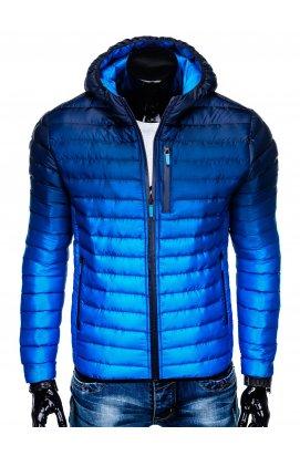 Куртка мужская демисезонная (осенне - весенняя) K319 - Синий
