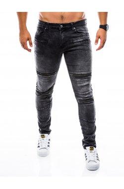 Штани чоловічі джинсові P751 - чорні