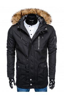 Куртка парка мужская зимняя K365 - черный