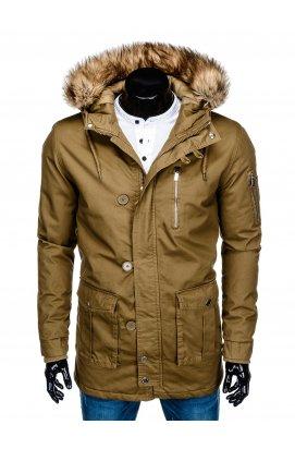 Куртка парка мужская зимняя K365 - OLIVE