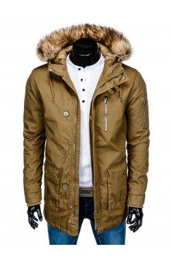 Куртка чоловіча зимова парка C365 - оливкова