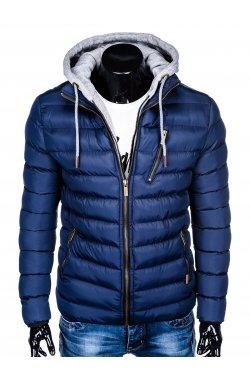 Куртка мужская стеганая K384 - Синий