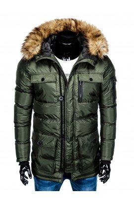 Куртка парка мужская зимняя K355 - KHAKI