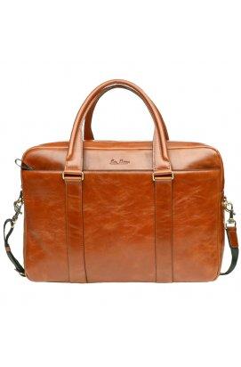 Мужская кожаная сумка Issa Hara