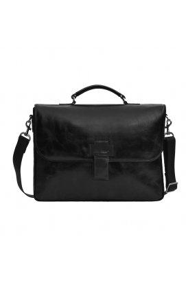 Деловой кожаный портфель