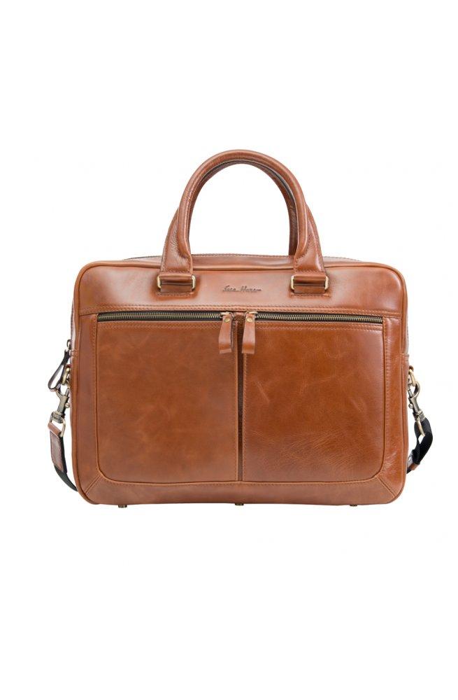 Стильная мужская кожаная сумка