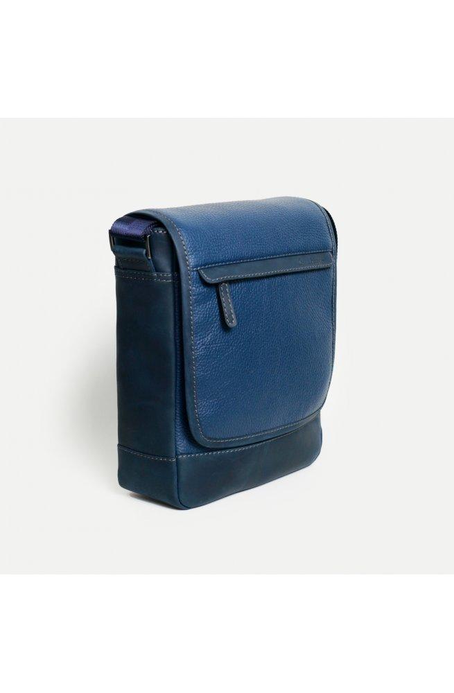 Кожаная сумка мессенджер